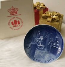 """Christmas Plate Porcelain Collector'S 2000 """"Christmas At The Bell Tower"""""""