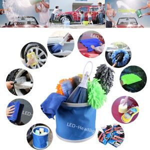 Car Cleaning Tools Kit, Car Wash Tools Kit for Detailing Interior and Exterior