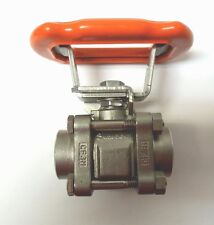 "SWAGELOK SS-63TF8-JK 1/2""  BALL VALVE FNPT CONNECTION 2200 PSI 316SS  <033NW"