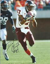 David Clowney Virginia Tech Hokies Hand Signed 8x10 Photo Autographed COA