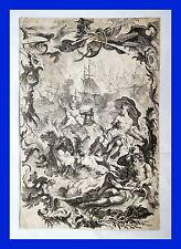 Originaldrucke (bis 1800) aus Bayern mit Militär- & Schlachten-Motiv
