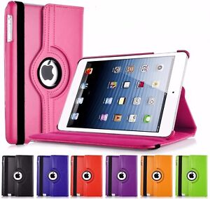 Leather 360 Degree Rotating Stand Case Cover For APPLE iPad Air 2/3/4 Air2,Mini