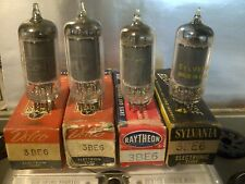 (4) 3BE6 Vacuum Tubes Lot (((Tested Very Good)))