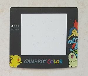 Replacement Pikachu, Chikorita Pokemon Screen Lens Game Boy Color - Gameboy GBC
