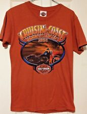 Harley Davidson T Shirt Small Cruisin Coast Bike Week 2004 Myrtle Beach