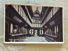 a2o postcard used 1940s fords hospital coventry creased