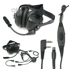 Noise reduction two way radio headset headphone UV-5R baofeng DM-5R CT-3