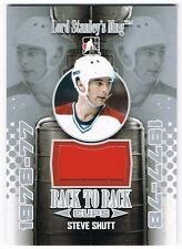 2013-14 ITG LORD STANLEY'S MUG BACK TO BACK CUP JERSEY #BBC-09 STEVE SHUTT /20 !