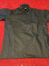 """Sca Larp Renaissance Cotton Denim Front closure Fencing jousting jacket 46"""""""