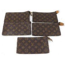 Louis Vuitton Monogram Cosmetic Pouch 5 pieces set 517447