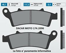 174.2096 PLAQUETTE DE FREIN SINTERED POLINI PEUGEOT : LOOXOR 150