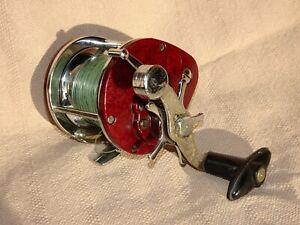 Ancien moulinet bakélite pèche vintage collector Penn style