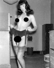 KEYRINGS-MUGS-PHOTOGRAPHS 1950/'s PLAYBOY MODEL BETTIE PAGE 239 WITH JUNE KING
