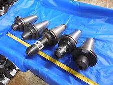 Set Of Cat50 58 Amp 16 Mm Id Solid End Mill Tool Holder Devlieg Parlec Lyndex