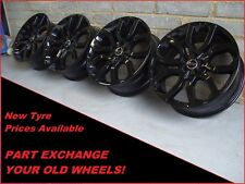 "Genuine 20"" Land Range Rover Evoque Discovery Sport Black 5004 Alloy Wheels"