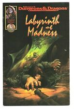 AD&D Labyrinth Of Madness TSR Limited Edition COMIC BOOK Scarce 1990's VG