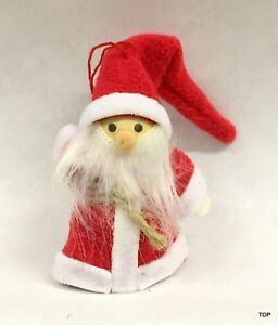 Santa Claus Pendant From Polyesterfilz Christmas Dwarf Christmas Tree Ornament