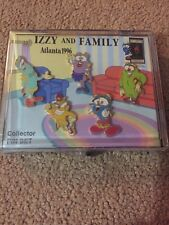 Izzy and Family Collector Olympic Pin Set 1996 Summer Olympics Mascot Boxed Set