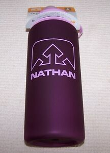 Nathan LITTLE SHOT 24oz Water Bottle IMPERIAL PURPLE ~ NWT