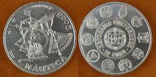 PORTUGAL  , 10  EUROS  ARGENT  2003   MARINE  BATEAU  ,  SUPERBE