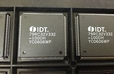 x1 **NEW** IDT79RC32V332-100DH ,MIPS-II Microprocessor IC, 1 Core, 32Bit 100MHz