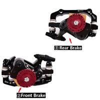 MTB Mechanical Brakes Bike Disc Brake Calipers Rotors 160mm Front Rear For SRAM