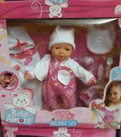 Bambola baby amore deluxe set giochi preziosi