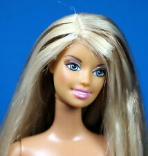 Barbie Fashionistas Tan Articulate Body Hybrid Highlighted Long Hair Nude