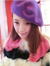 Fashion Lady Women Wool Felt Warm French Classic Beret Beanie Slouch Hat Cap Tam