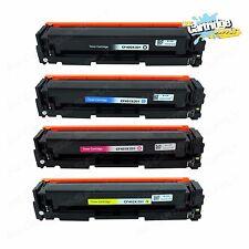 4PK 201X CF400X CF401X CF402X CF403X Toner Set For HP LaserJet M252dw M277n