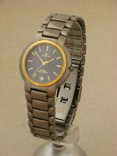 Dugena Titan Uhr Datum Quarz Herren Armbanduhr HAU Vintage wrist watch reloj