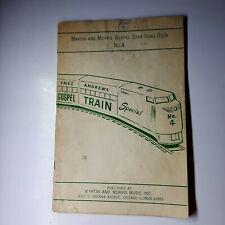 Gospel Star Song Book No. 4 Martin & Morris Gospel Train Special 16 Songs 1964