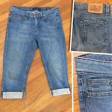 Marc Jacobs Womens Sz 28 Debbie 004 Stretch Low Rise Skinny Crop Denim Jeans A85