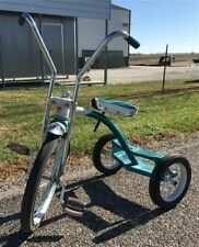 Vintage Mid Century AMF Junior Tricycle, Bicycle, Pedal Trike, Rustic Decor, A1