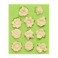 Silicone Flower Mould Cake Decor Icing Sugar Paste Chocolate  Mould UK SELLER 11