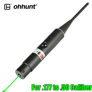 ohhunt Green Dot Laser Bore Sight .177 to .50 Caliber Bore Sighter For Rifle Gun