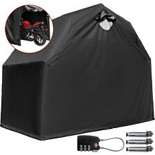 Heavy Duty Large Motorcycle Shelter Shed Cover Storage Tent Strong Secure Rain