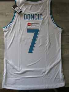 Luka Doncic Real madrid Shirt Jersey Camiseta 2017 Dallas Mavericks NBA (XL)