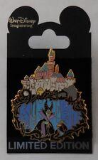 Mickey Pin WDI Sleeping Beauty Castle Walk Through Series Maleficent & Diablo
