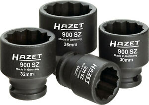 Hazet Antriebs- Articulated Achswellen-Satz Socket Nut Impact Driver 900SZ/4