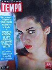 TEMPO n°34 1962 Jackie Lane - Marilyn Monroe Arthur Miller  [C91]