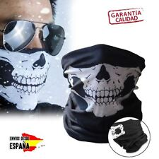 Pasamontañas Braga cara pañuelo moto Calavera Ghost Black Call of Duty Fortnite