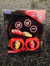 Lexibook Disney CARS 3 Cuffie Stereo Bambini piega e conservare Easy-NUOVO