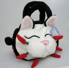 "Plush Cat Face Small Handbag ""Chili"" by Whimsiclay Cats"