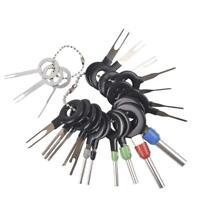 21 Pcs Auto Terminals Removal Tool Set Car Electrical Wiring Crimp Pin Kit UK