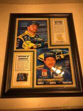 Dale Earnhardt Jr. 2010 Daytona Framed 13x16 Collage & Race-Used Tire COA