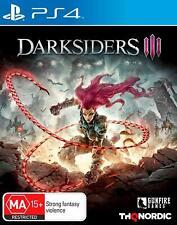 Darksiders III 3 Hack And Slash Adventure Fighting Game Sony Playstation 4 PS4