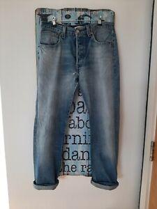 Levi's Levi Levis 501 Jeans W33 L30 Mom Boyfriend Size 12 Women Men