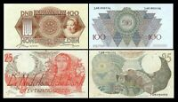 2x  25, 100 Gulden - Edition 1947 - Reproduction - NL 06