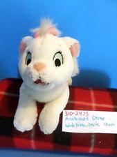 Disney The Aristocats White Kitten Marie beanbag plush(310-2473)